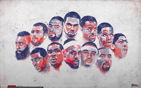 Picture Figure, Basketball, Background, Team, USaPassion