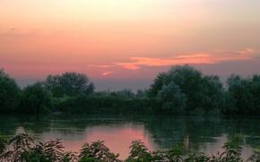 Picture Sunset, The sky, Kuban
