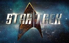 Picture cinema, space, logo, Star Trek, movie, film, 50th anniversary, TV series, Star Trek: Discovery