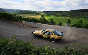 Picture nature, sport, Drift, Rally, Porsche 944