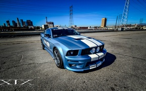 Picture White, XIX, Stripes, MUSTANG, FORD, X33