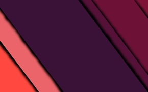 Picture line, lilac, pink, geometry, android, design, color, material