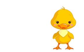Picture art, duck, children's