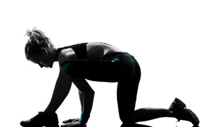 Picture fitness, training, elongation