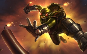 Wallpaper barrel, dynamite, Warcraft, World of Warcraft, bomb, hearthstone, Hearthstone: Heroes of Warcraft, goblin