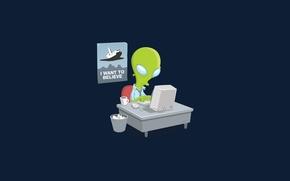 Picture NASA, alien, researcher, report, roles reversed