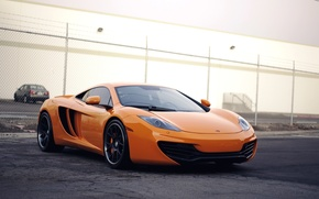 Picture McLaren, Machine, Orange, McLaren, Orange, Car, Car, Beautiful, Wallpapers, Beautiful, Supercar, mp4-12c, Wallpaper, MP4-12C