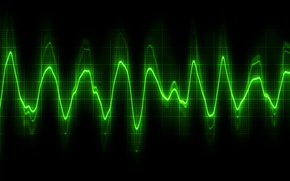 Picture line, background, cardiogram