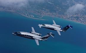 Picture Business Jet, made in ITALY, Piaggio P-180 Avanti II