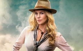 Picture the film, Charlize Theron, A Million Ways to Die in the West, A million ways …