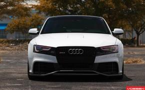 Picture white, Audi, audi, white, vossen, rs5, Voss