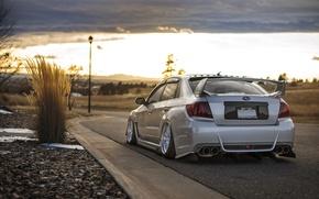 Picture Subaru, Impreza, WRX, STi, JDM, Stance, Low, BellyScrapers
