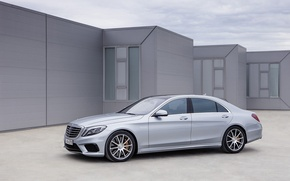 Picture grey, Mercedes-Benz, AMG, S 63