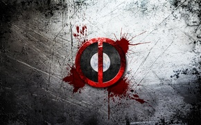 Picture logo, logo, Deadpool, Marvel, Deadpool, Marvel