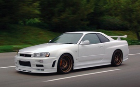 Picture car, skyline, gtr, nissan skyline