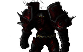 Picture weapons, warrior, art, armor, Orc, wow, world of warcraft, ork, Horde, worrior