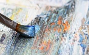 Wallpaper wood, painting, acrylic