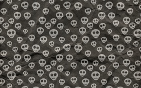 Wallpaper Halloween, texture, background, skull