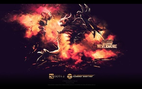 Picture Wallpaper, juggernaut, dota 2, nevermore