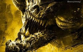Picture Monster, War, Horse, Darksiders, War