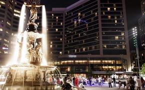 Picture city, the city, USA, Cincinnati, Ohio