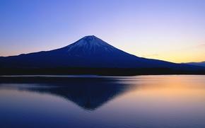 Wallpaper mountain, Fuji, Japan