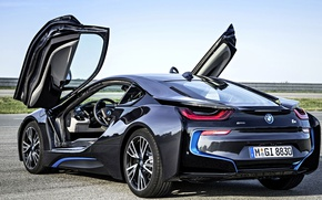 Picture BMW, the concept, i8