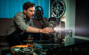 Picture photoshoot, Benedict Cumberbatch, Time Out