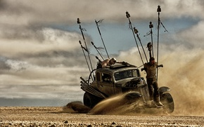 Picture machine, desert, chaos, postapocalyptic, prisoner, Mad Max, Fury Road, Mad Max, this moment, Road rage, …
