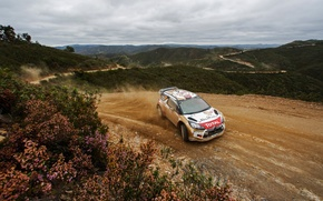Wallpaper DS3, Portugal, Mads Ostberg, WRC, Rally
