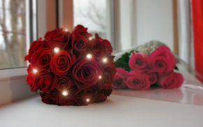 Picture roses, bouquet, wedding