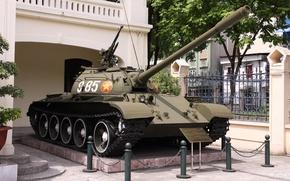 Picture tank, armor, Soviet, average, T-54B