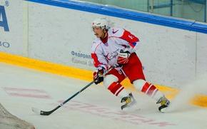 Picture hockey, arena, Alexander Ovechkin, Sochi 2014