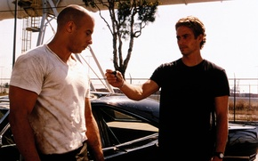 Picture VIN Diesel, Paul Walker, The fast and the furious, Vin Diesel, Paul Walker, The Fast …