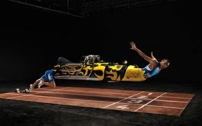Wallpaper Sport, Machine, Running