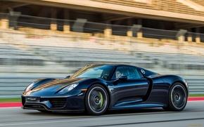 Picture road, speed, Porsche