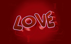 Wallpaper style, words, love style