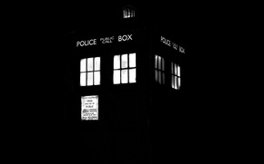 Picture Black Background, Doctor Who, Doctor Who, The TARDIS, TARDIS