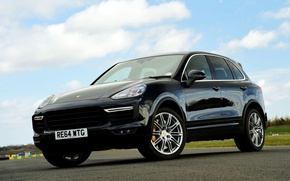 Picture Porsche, Porsche, Turbo, Cayenne, Cayenne, UK-spec, 958, 2014