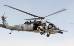Picture Sikorsky, HH-60G, Pave Hawk, modification, U.S. Air Force, American multi-purpose helicopter