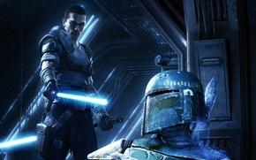 Wallpaper the force unleashed 2, star wars, star wars, lightsaber