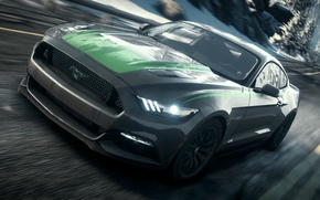 Wallpaper Shelby, 2015, nfs, NFSR, NSF, Rivals, Need for Speed, 2013, Mustang, Ford