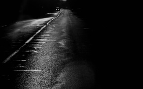 Picture Road, Black and white, Strip