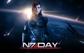 Picture space, Earth, Earth, Mass Effect, Shepard, Shepard