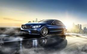 Picture Mercedes Benz, C Class, 2015