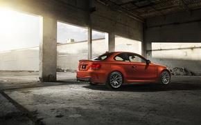 Picture BMW, BMW, orange, 1 series, E82