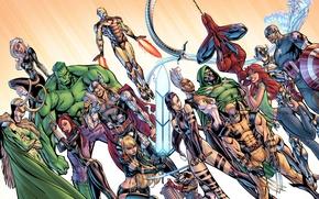 Picture spider-man, God, X-Men, Storm, wolverine, captain america, thor, hulk, iron man, Black Widow, marvel comics, …