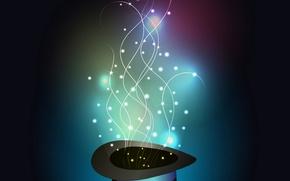 Picture magic, lights, shape
