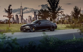 Picture BMW, convertible, black, BMW M3, Hardtop