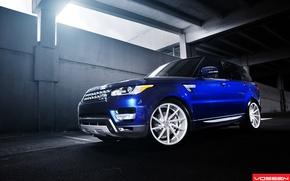 Picture machine, auto, Range Rover, auto, Vossen, Wheels, CVT6